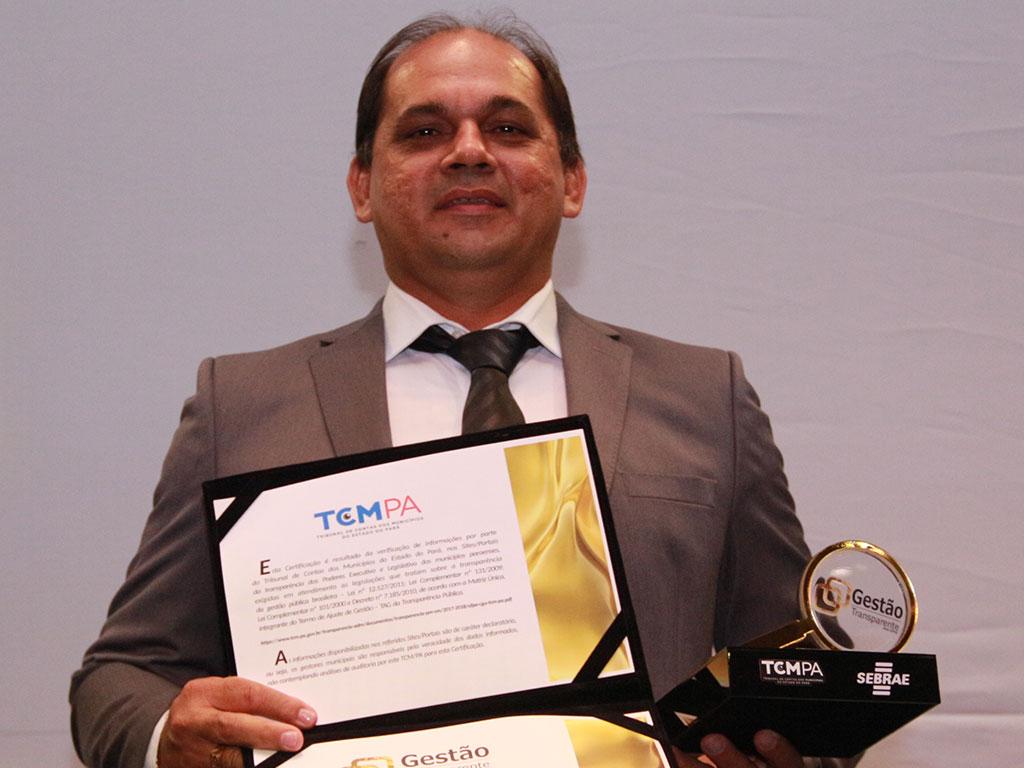 Iraildo Barreto – Prefeitura Municipal de Augusto Cerrêa – Cliente CR2